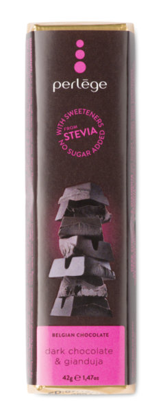 Perlége тъмен шоколад и Джандуя без захар